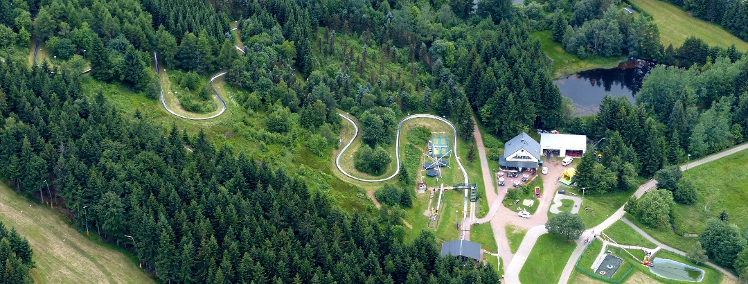 Erlebnisberg Altenberg Luftaufnahme