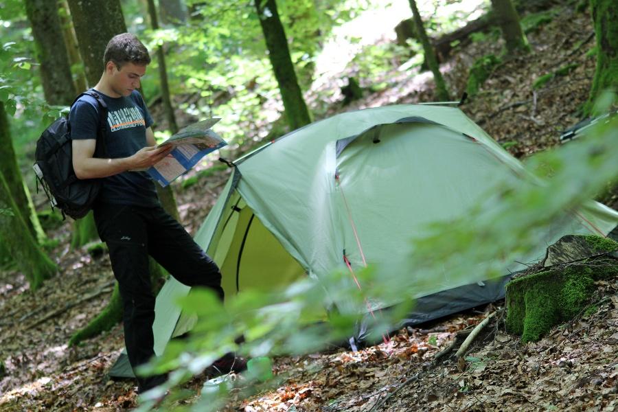 Trekking Camp Grimbach - Kreuzfelsen - Malschbach