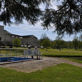 Wassertretbecken Park Klinik Bad Hermannsborn
