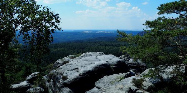 Ausblick vom Gohrischstein