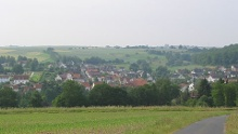 Rundradweg über Carlsdorf, Hombressen und Schöneberg