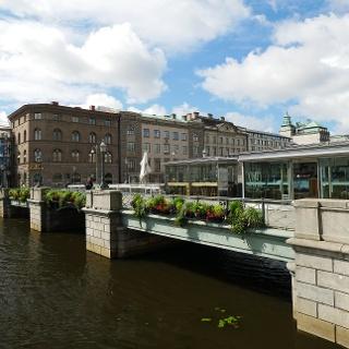 Brücke über den Stora Hamnkanalen
