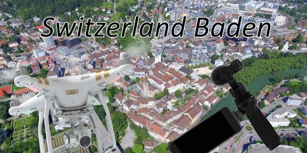 Switzerland Aargau Baden Drone Video Dji Phantom | Dji Osmo
