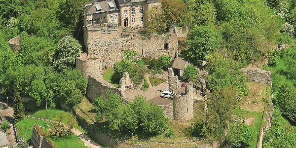Eifelsteig Etappe 8: Mirbach - Hillesheim_Burg Kerpen