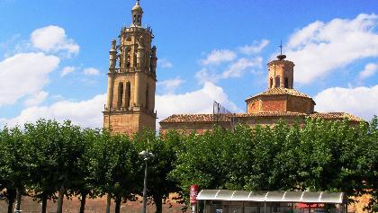 Los Arcos: Pfarrkirche Santa Maria