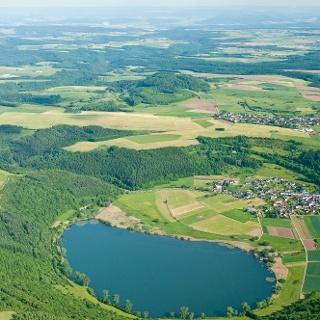 Meerfelder Maar_Vulkaneifel-Pfad: Hinterbüsch-Pfad