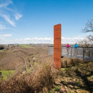 Aussichtsplattform Achterhöhe_Vulkaneifel-Pfad: Maare-und-Thermen-Pfad: Etappe 2: Lutzerath - Bad Bertrich