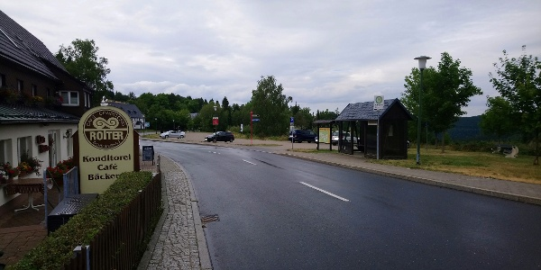 Parkplatz Skilift Schellerhau / Café Rotter