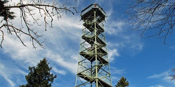 Der Aussichtsturm auf dem Lemberg