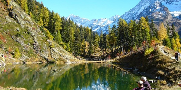 Schwarzsee; Fafleralp-Blatten