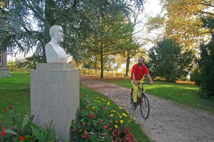 Per Pedal zur Poesie: Literarischer Radweg 4 Stein am Rhein - Konstanz