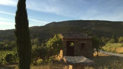 Cabane Cancian, point de départ du chemin des cabanes