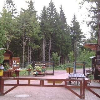 Eingang Rennsteiggarten