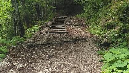 Foto von Bergtour: Zur Höllentalangerhütte • Zugspitz-Region (17.08.2018 10:33:43 #1)