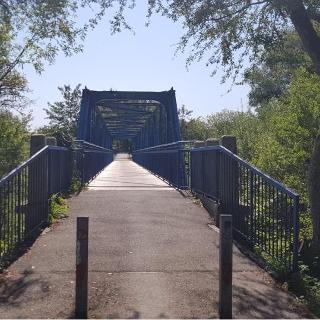 Brücke über die Loisach bei Gelting