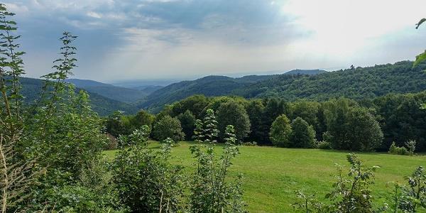 Ausblick von Labaroche