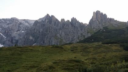 Klettersteig Hochkönig : Klettersteig grandlspitz am hochkönig in den alpen