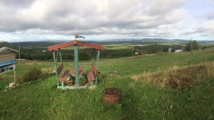 Fikaplats i Böle