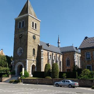 Kirche von Hauset (Start/Ziel)