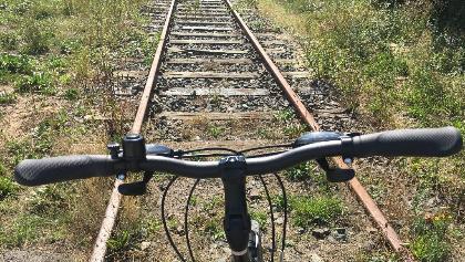 Fahrradweg auf alter Bahntrasse Trittau - Bad Oldesloe in Stormarn
