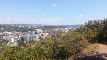 The first panoramic view of Brno