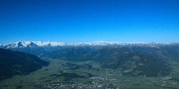 Ausblick von der Peter Wiechenthaler Hütte