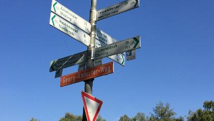 Ammer-Amperradweg nach Fürstenfeldbruck