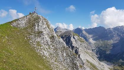 Die Mandlspitze ( 2.366 m)