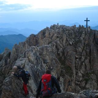 Gipfelkreuz Großer Rettenstein
