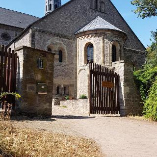 R69 Petersberg bei Halle Saale Augustinerstiftskirche St. Petrus