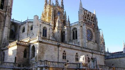 mächtige, gotische Kathedrale von Burgos