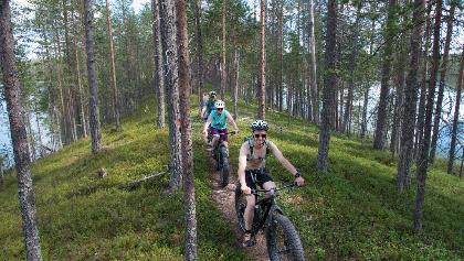 Mountainbiking in Hossa National Park