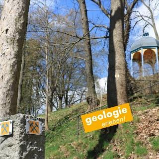 Der Geopfad im Stadtpark Theresienstein