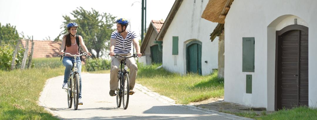 Radfahren im Römerland Carnuntum-Marchfeld