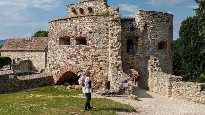 Die Kinizsi-Burg in Nagyvázsony