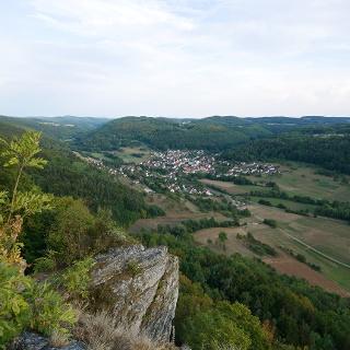 Ausblick vom Hohlen Fels