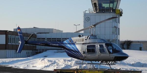 Winter auf dem Siegerlan-Flughafen