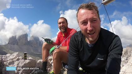 Dolomiti senza confini - Dolomiten ohne Grenzen // Klettersteigtour an den Drei Zinnen