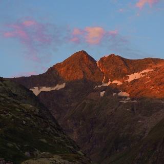Sonnenaufgang am Seekopf 2923m