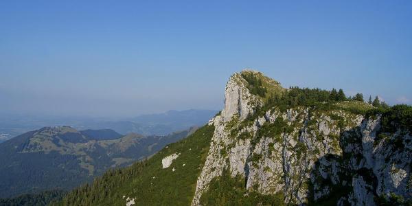 Der Breitenstein fällt nach Norden steil ab