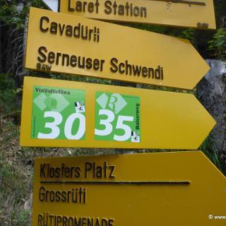 Wegweiser (Weg 30)