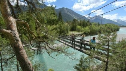 Hängebrücke in Forchach