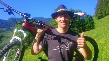 geführte Mountainbiketouren mit Toni
