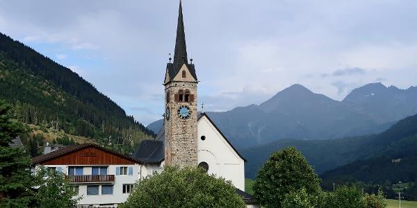 Kirche Sedrun.