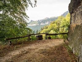 Foto Bild 14: Blick zu den Schrammsteinen