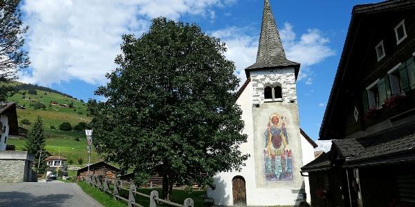 Kapelle St. Martin in Brigels.