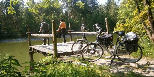 Silbersee im Heseler Wald