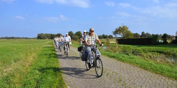 Radfahrer in Moormerland
