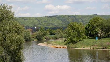 Im Kanu auf Werre und Weser