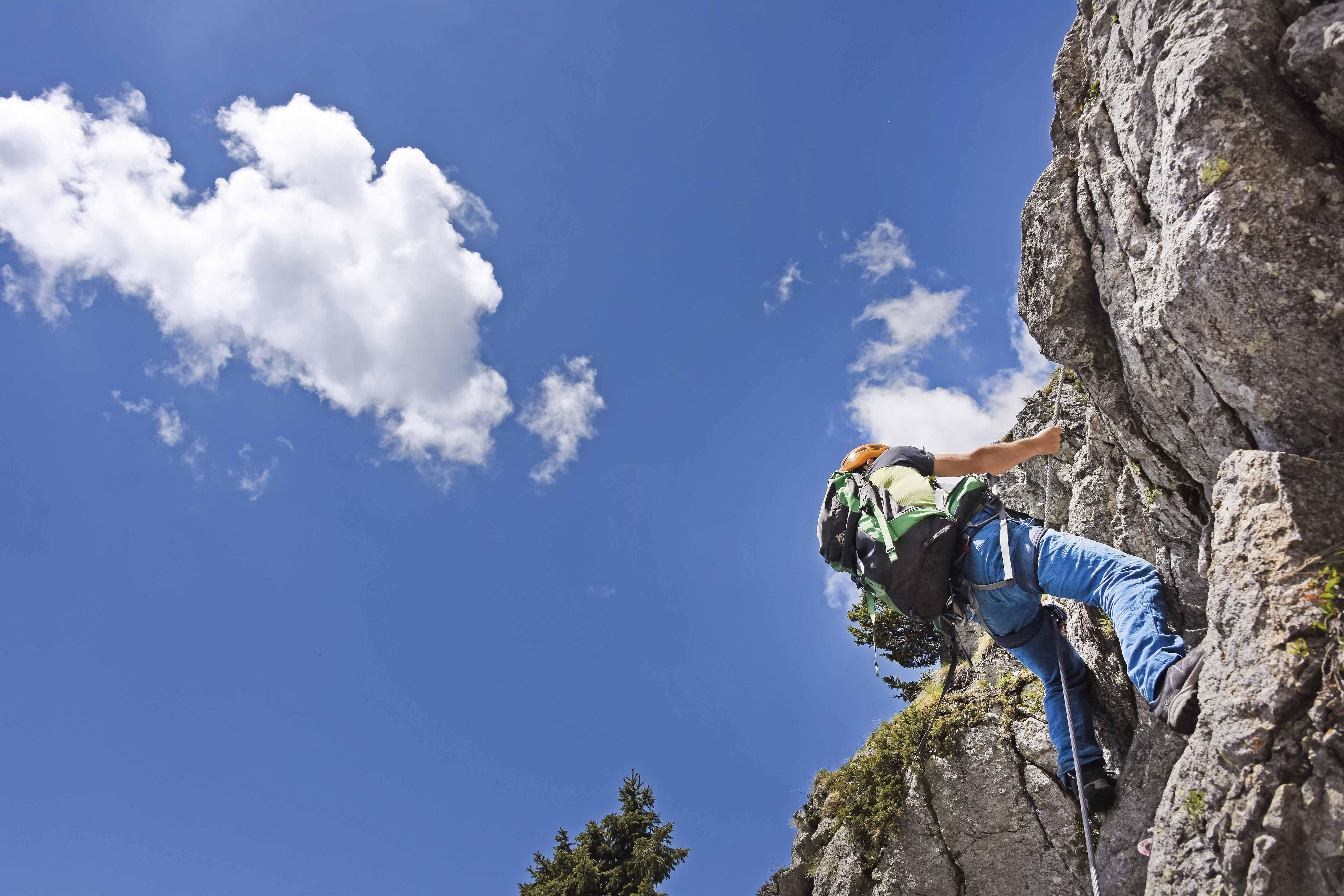 Klettersteig Naturns Knott : Die schönsten klettersteige im meraner land